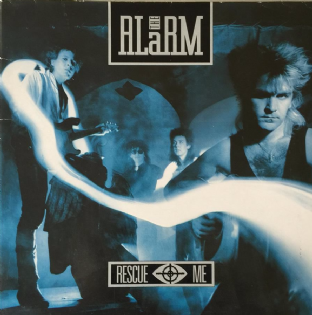 "Alarm (The) ‎- Rescue Me (12"") (EX+/VG)"